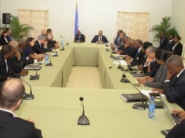 Haiti - Economy : Moïse meets with the private business sector