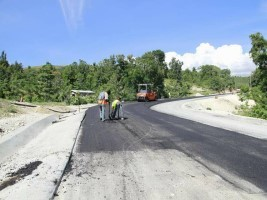 Haiti - Road : Towards the completion of the Morne Puilboreau works
