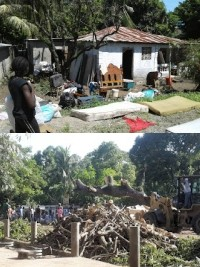 Ha ti flash impressionnantes inondations dans le nord for Hopital canape vert haiti