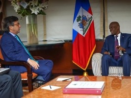 Haiti - New York : Positive meeting between Moïse and the IDB