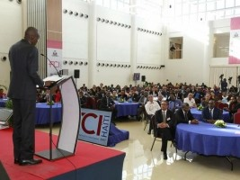 Haiti - Economy : Moïse closes the Forum on Competitiveness and Investment