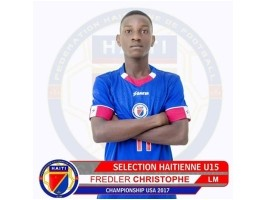 Haiti - Football : A young Grenadier trainee in France at Club Montpellier Hérault (L1)
