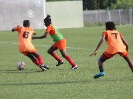 Haiti - Caribbean Cup U-17 : Our Grenadières are preparing for the final phase