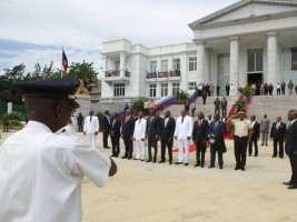 Haiti - Justice : Moïse at the opening ceremony of the judicial year 2017-2018