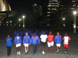 Haiti - Football : Grenadiers settle in Yokohama