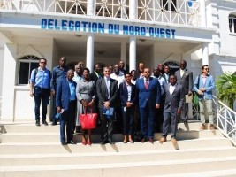 Haiti - Politics : Visit to the unfinished Administrative Center of Port-de-Paix