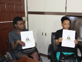 Haiti - Politics : Installation of disabled executives at the Ministry of Education