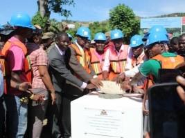 iciHaïti - Agriculture : Pose de la Première pierre du 4e Centre de propagation végétale