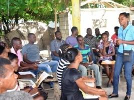 iciHaïti - Social : 440 «leaders» communautaires formés aux bonnes pratiques agricoles et nutritionnelles
