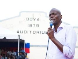 iciHaiti - Artibonite : President Moses monitor works and projects