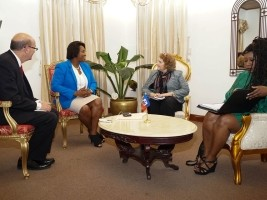 Haiti - Politic : Martine Moïse meets US officials