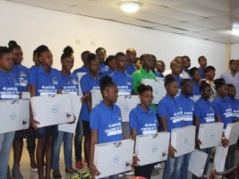 Haiti - Education : Laureates of the text contest on the Battle of Vertières