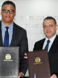 Haiti - DR : Signing of a MoU on air transport
