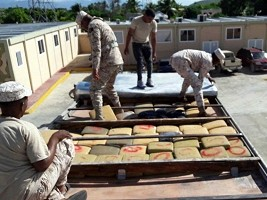 Haiti - DR : Seizure of more than 200 kg of marijuana from Haiti