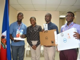 Haiti - DR : Winners of the Contest text «The new battles of Haiti»
