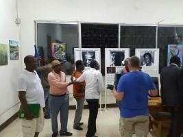iciHaïti - Culture : Clôture de l'Atelier International de Peinture 2017
