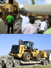 iciHaïti - Politique : Le Président Moïse satisfait des travaux en cours dans le Nord-Ouest