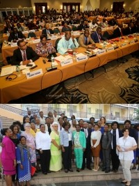 Haiti - Politic : Parliamentarians from more than 106 countries gather in Port-au-Prince