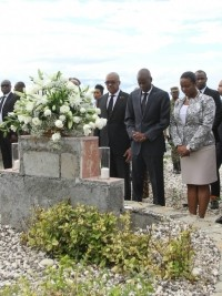 Haiti - Politic : President Moïse pays tribute to the victims of January 12, 2010