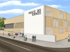 iciHaiti - Reconstruction : Laying of the first of the future Faculty of Sciences of the UEH