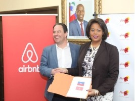 Haiti - Tourism : Minister Menos signs an agreement with Airbnb