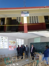 Haiti - Japan : Official inauguration of two school projects
