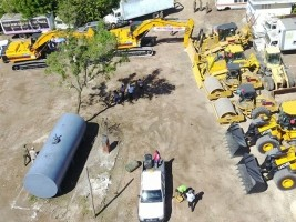 iciHaiti - Nippes : Distribution of heavy machinery in the Nippes