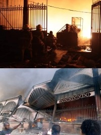 Haiti - FLASH : The Iron Market ravaged by a fire
