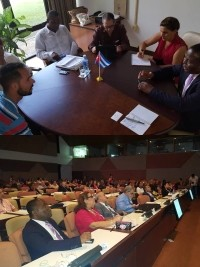 Haiti - Education : Minister Cadet calls for an expansion of Cuban cooperation