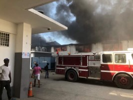 Haiti - FLASH : The public market «Nan gerit» ravaged by a fire