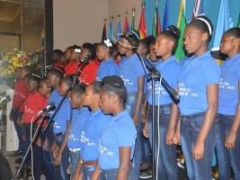iciHaïti - Culture : La chorale de l'INAMUH charme les diplomates étrangers