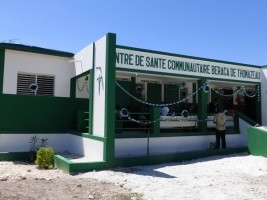 Haiti - Japan : Official remittance of the CSC Beraca of Thomazeau