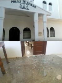 Haiti - FLASH : Violence and vandalism in Petit-Goâve, many damages !