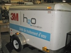 Haiti - Technology : Donation of a mobile water treatment unit