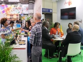 iciHaïti - Tourisme : Le stand d'Haïti au Salon ITB, attire beaucoup de monde