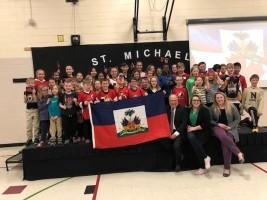 iciHaïti - Canada : L'ambassadeur d'Haïti parle de notre pays à des écoliers canadiens