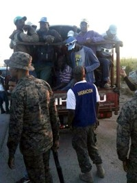 iciHaïti - San Pedro de Macorís : 100 haïtiens déportés en Haïti