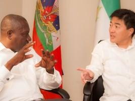 iciHaïti - Politique : L'Ambassadeur de Taïwan en visite aux Cayes