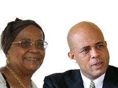 Haiti - Elections : Tours and support of both candidates...