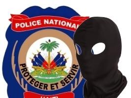 iciHaiti - Barettes : Hooded individuals disarm police officers
