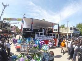 iciHaïti - Port-de-Paix : Funérailles du Maire adjoint Tony Vernio