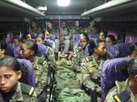 Haiti - DR : 600 Dominican military students in training at the border