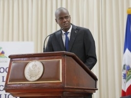 Haiti - Politic : President Moïse standing in the fight against the scourge of corruption