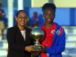 iciHaïti - Football U-17 : «Corventina» reçoit le prestigieux Ballon d'or !