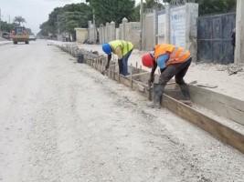 iciHaïti - Croix-des-Bouquets : Poursuite des travaux de réhabilitation de la route de Lilavois
