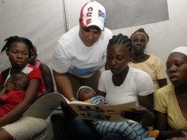 Haiti - Cuba : Towards the Literacy of 300,000 more Haitians