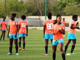 Haiti - Football U15 : Our young Grenadières prepare for the Women's American Championship