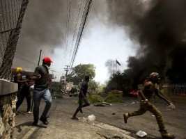 iciHaiti - Security : The riots made several dozen injured by bullets