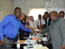 iciHaiti - Environment : Towards an agreement between the Ministry of the Environment and the Haitian Red Cross