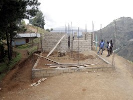 iciHaiti - Panyol : Follow-up of the construction of the cafeteria of the Classic Training Center